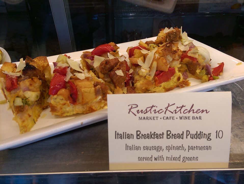 Italian Breakfast Bread Pudding