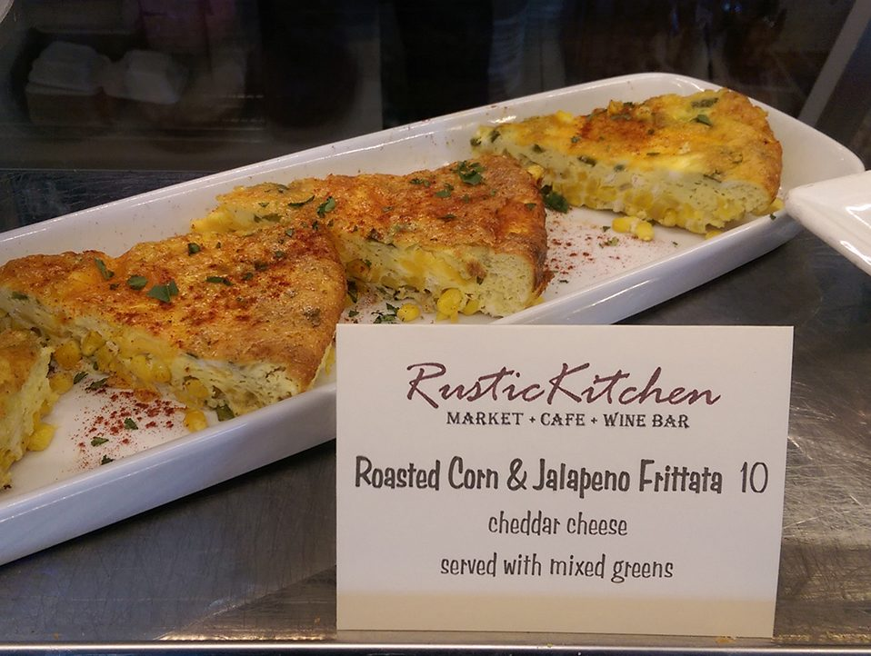 Roasted Corn & Jalapeno Frittata