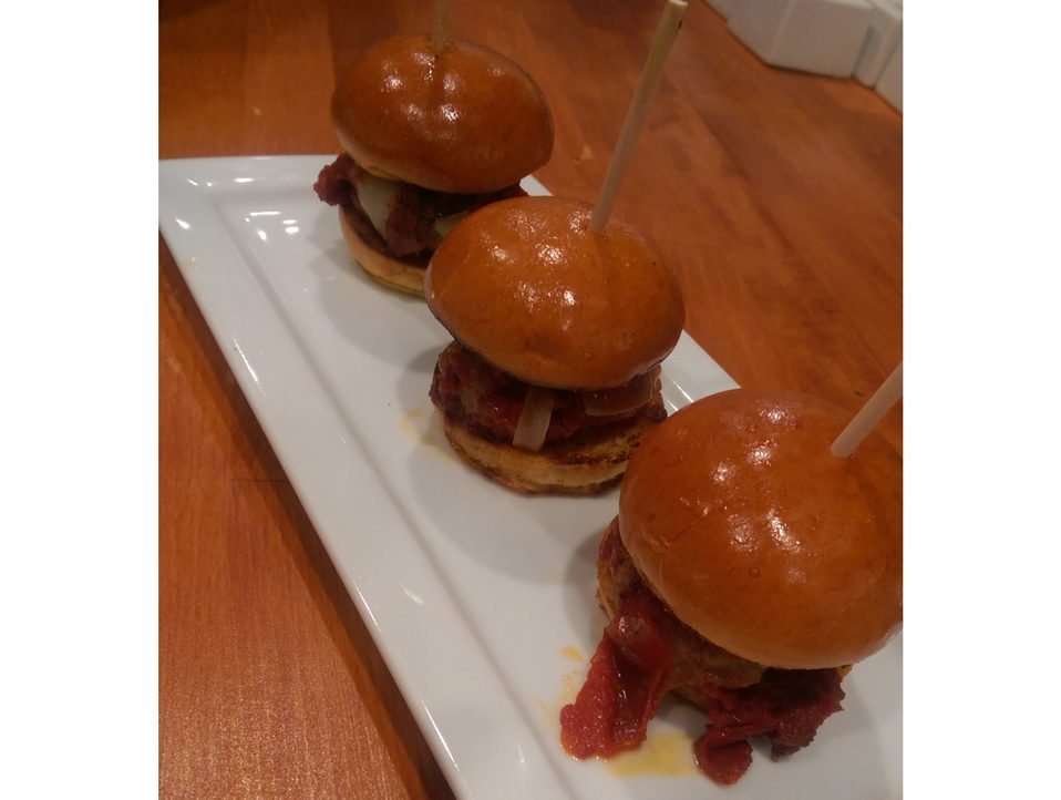 Veal Meatball Sliders