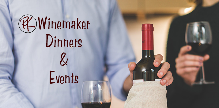 Winemaker Dinners & Events