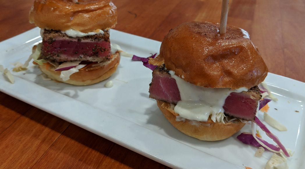 Yellowfin Tuna Sliders a Rustic Kitchen LA Special