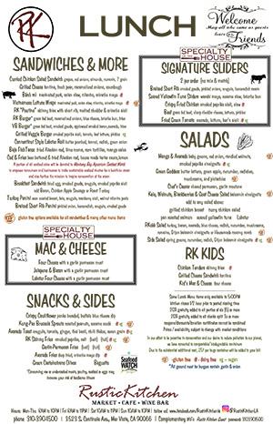 Lunch menu image linked to PDF
